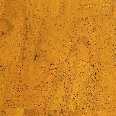 Yellow cork fabric, Surface texture