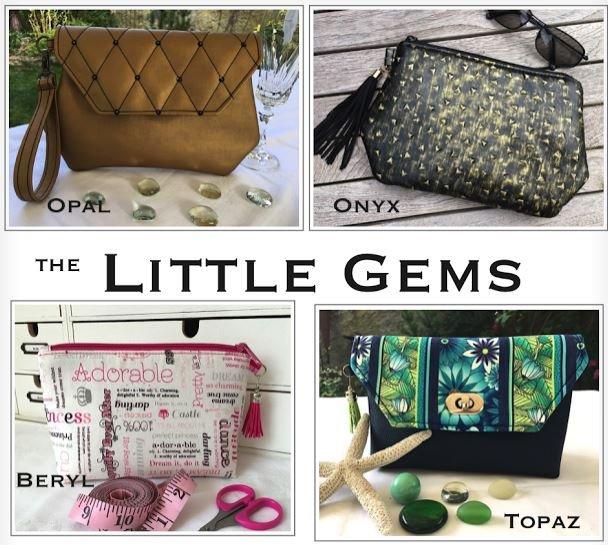 The Little Gems Acrylic Templates