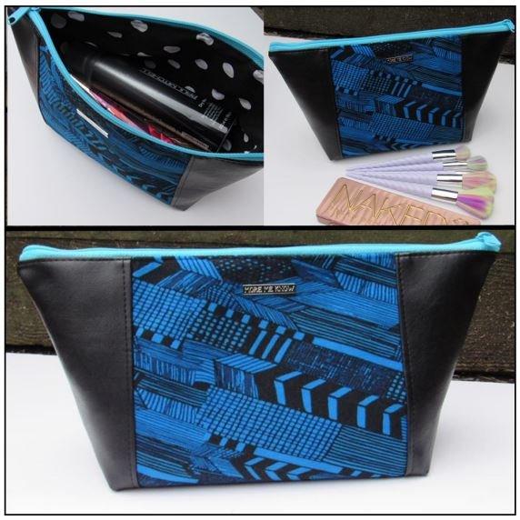 The Peek-A-Boo Beauty Bag Acrylic Templates