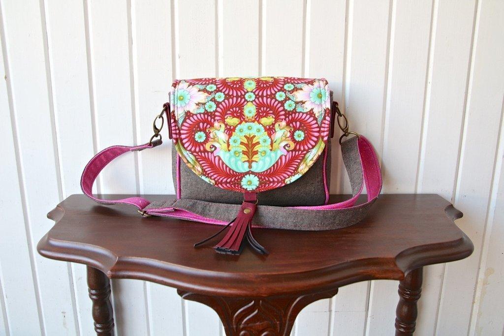 The Sweet Pea Saddle Bag Acrylic Templates