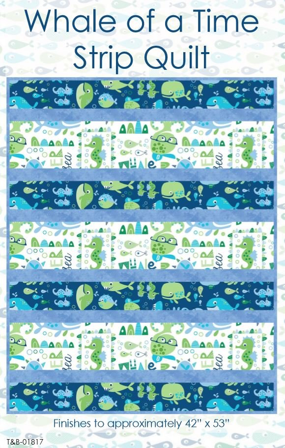 Whale of a Time Strip Quilt