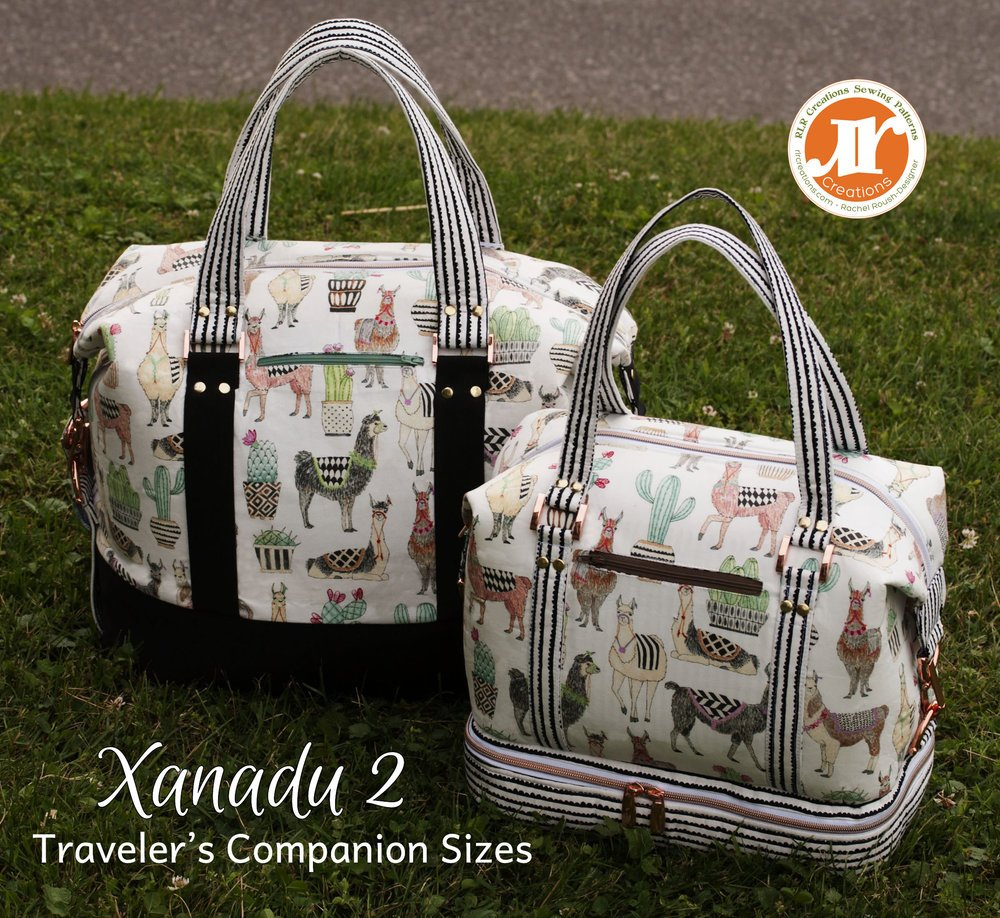 The Xanadu II Traveler's Companion Acrylic Templates