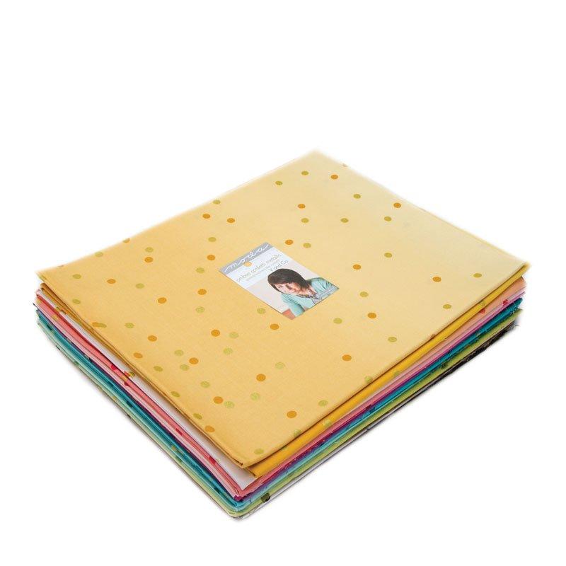 for Moda 100/% Cotton Ombre/' Confetti Metallic Turquoise designed by V/&Co