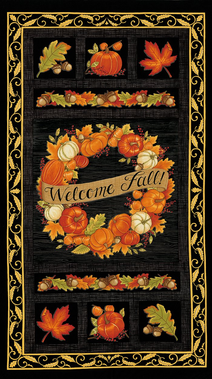 Welcome Fall Panel 19770-15