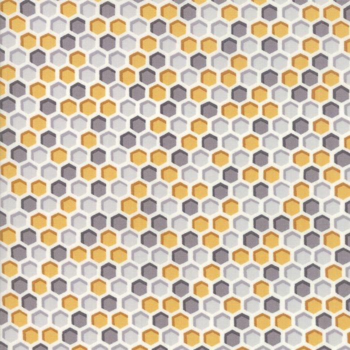 Bee Joyful 19875-14 Grey Honey