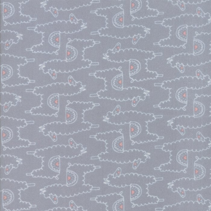 Soft and Sweet Flannel 20603-19F Grey