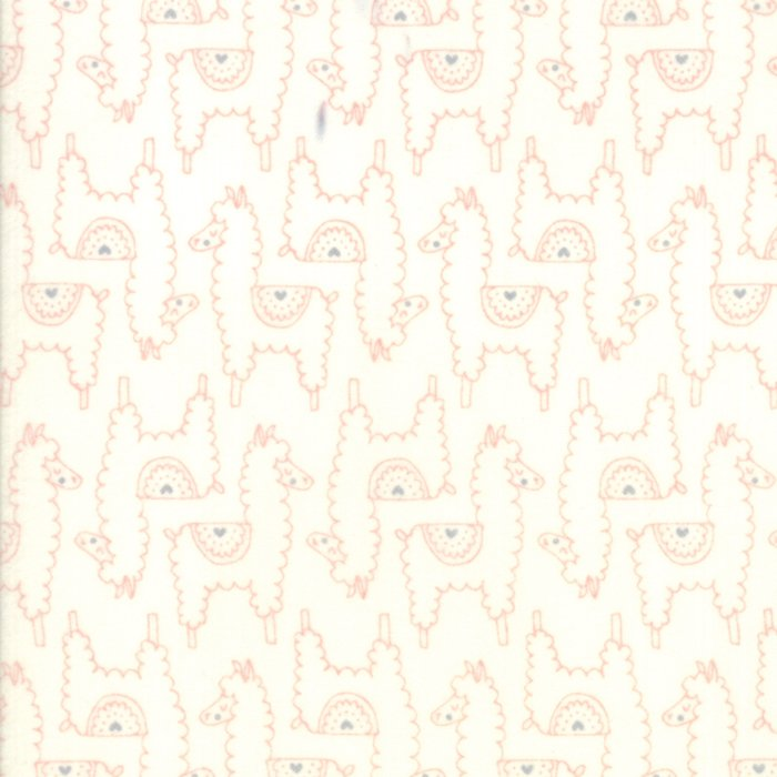 Soft and Sweet Flannel 20603-22F Pink Cream