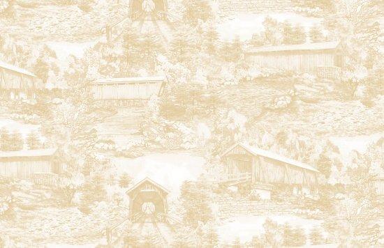 Covered Bridges 9001-044 Ecru