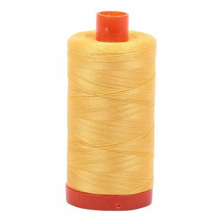 Aurifil 1135 Pale Yellow