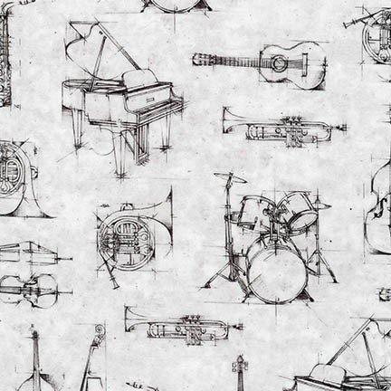 All That Jazz Digital AWU-17239-12 Grey