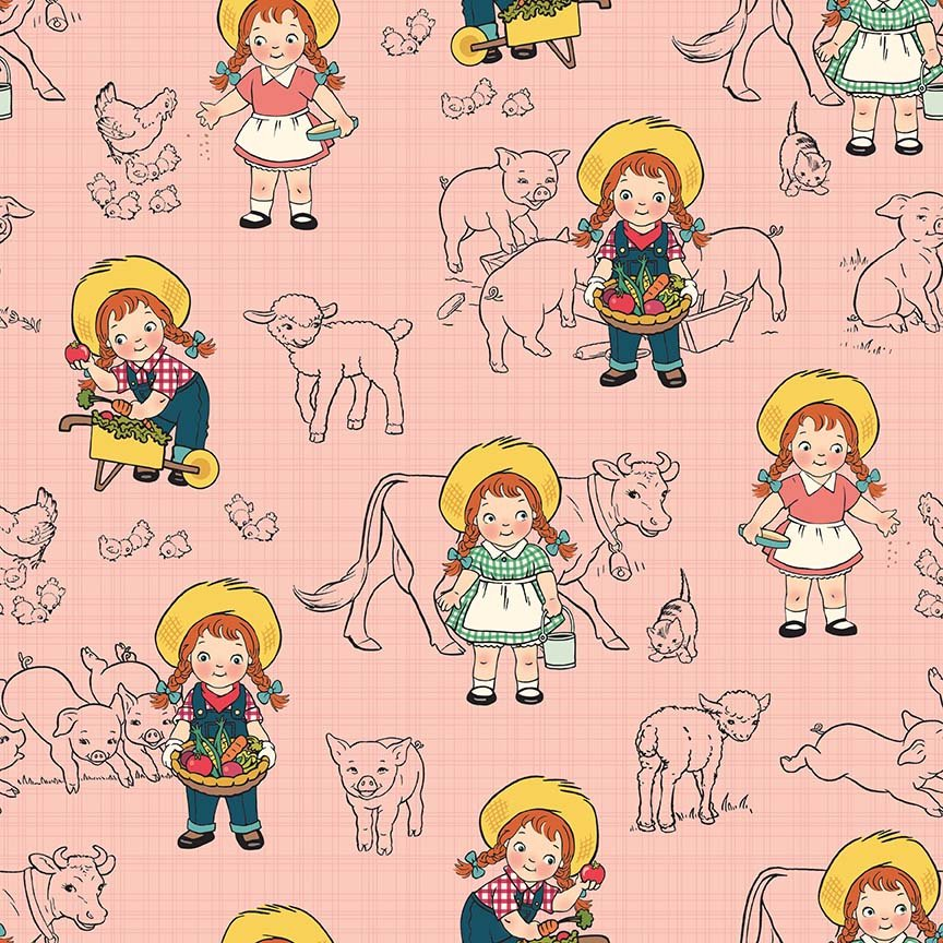 Farm Girl C5020-PINK