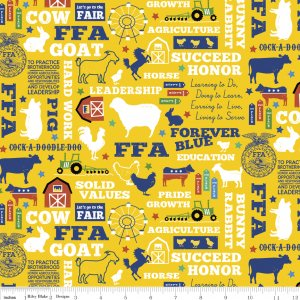 FFA Forever Blue C7210 Gold