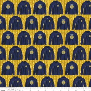 FFA Forever Blue C7213 Gold