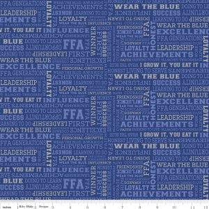 FFA Forever Blue C7215 Blue