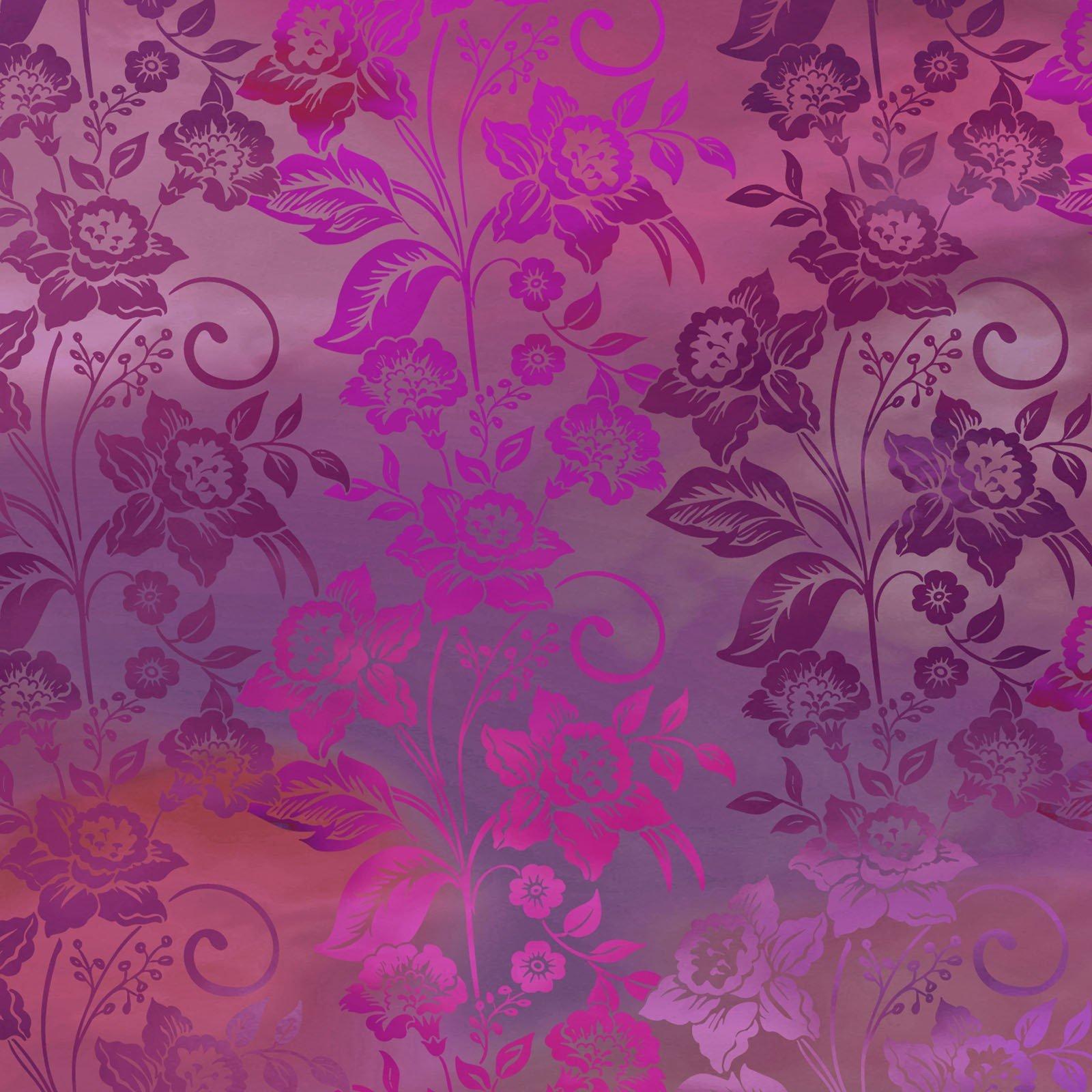 Diaphanous 5ENC-4 Magenta Enchanted Vines