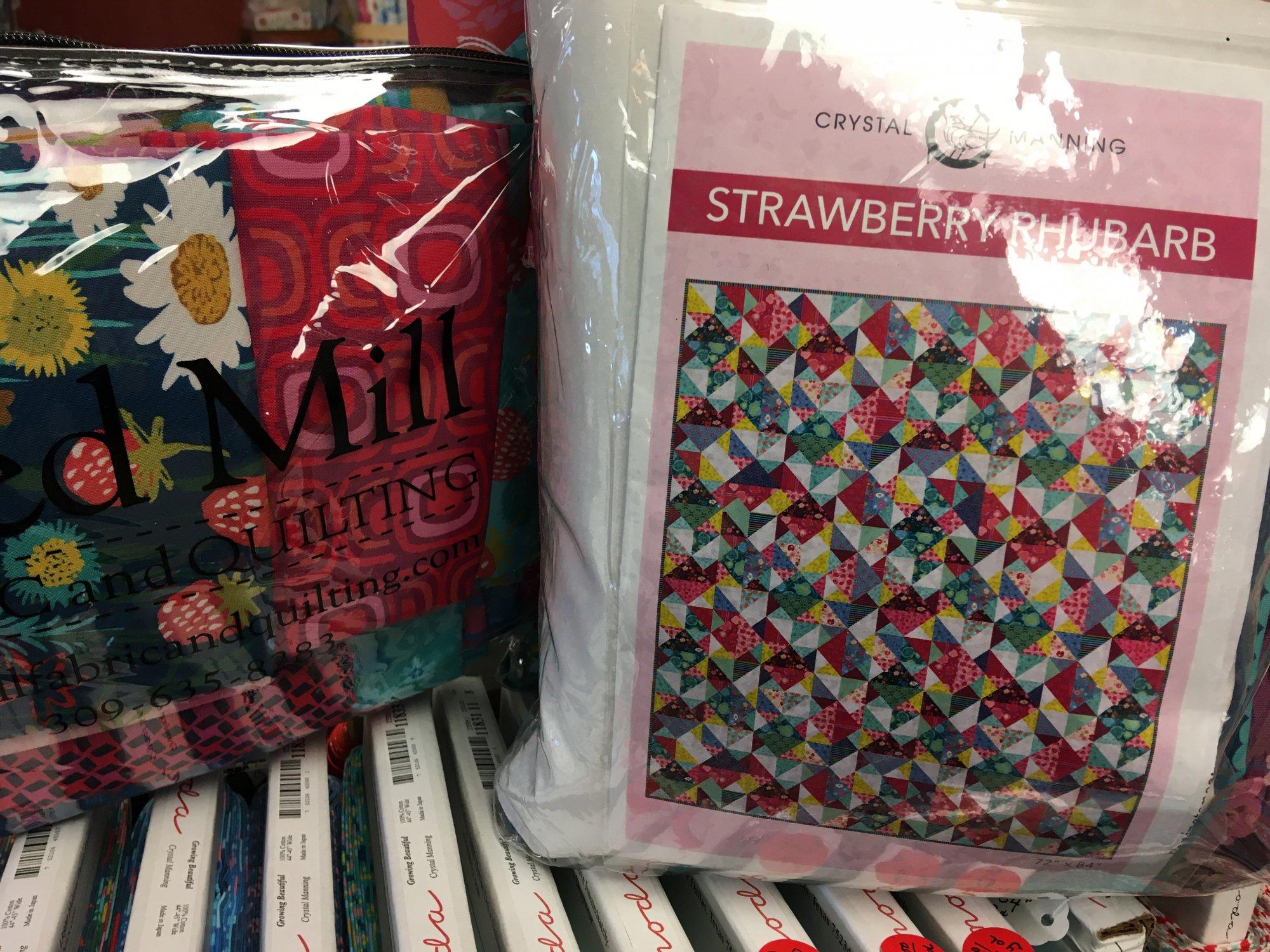 Strawberry Rhubarb Quilt Kit KIT11830