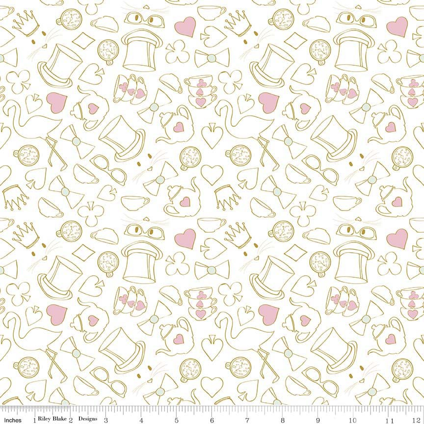 Wonderland 2 SC5774-White