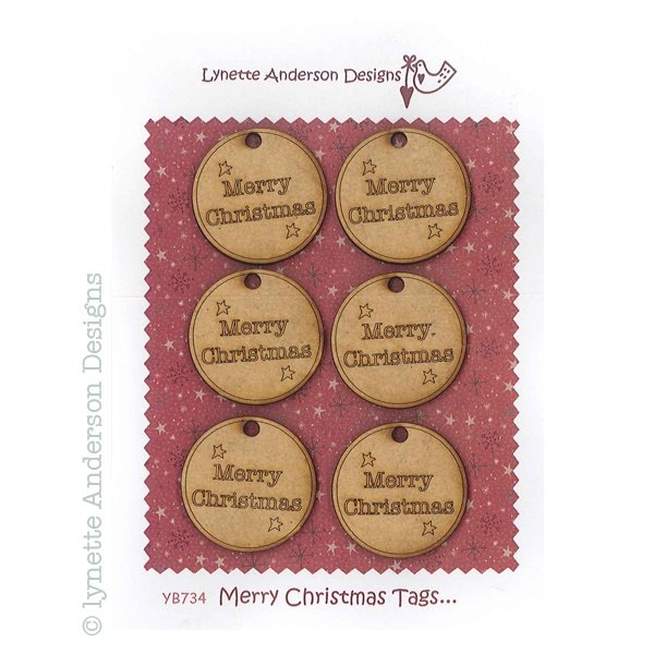 Merry Christmas Tags YB-734