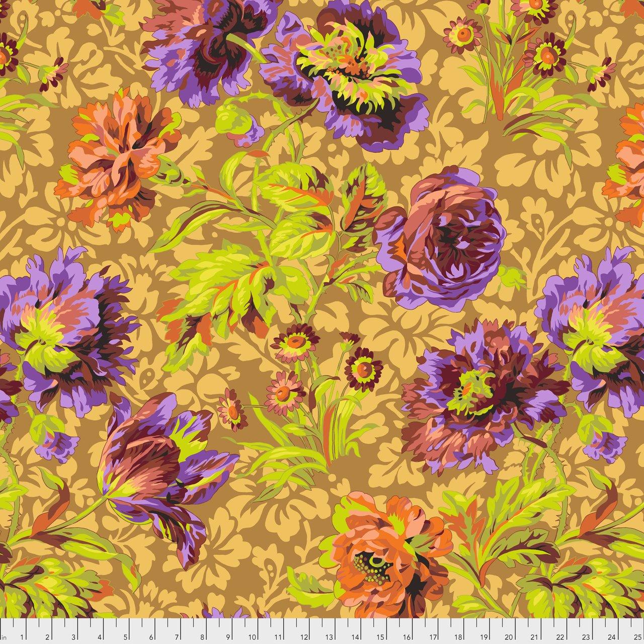 Baroque Floral - Brown
