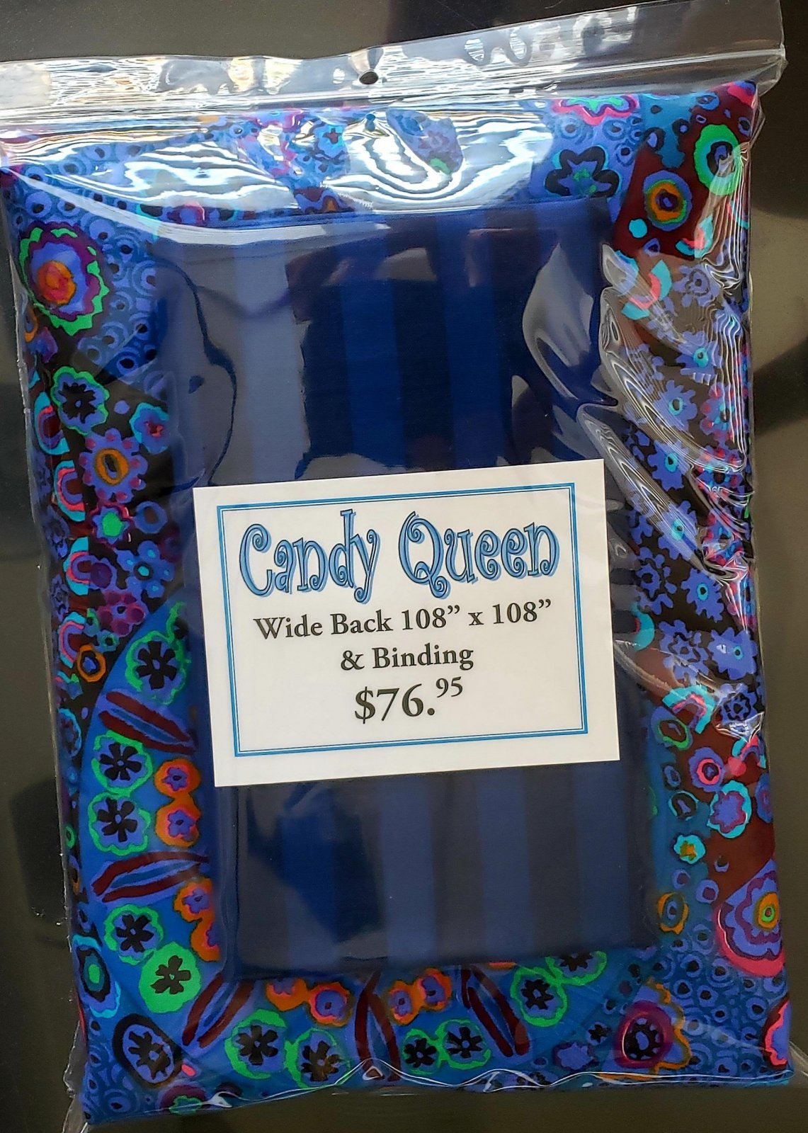 Candy Queen - Blue Finishing Kit