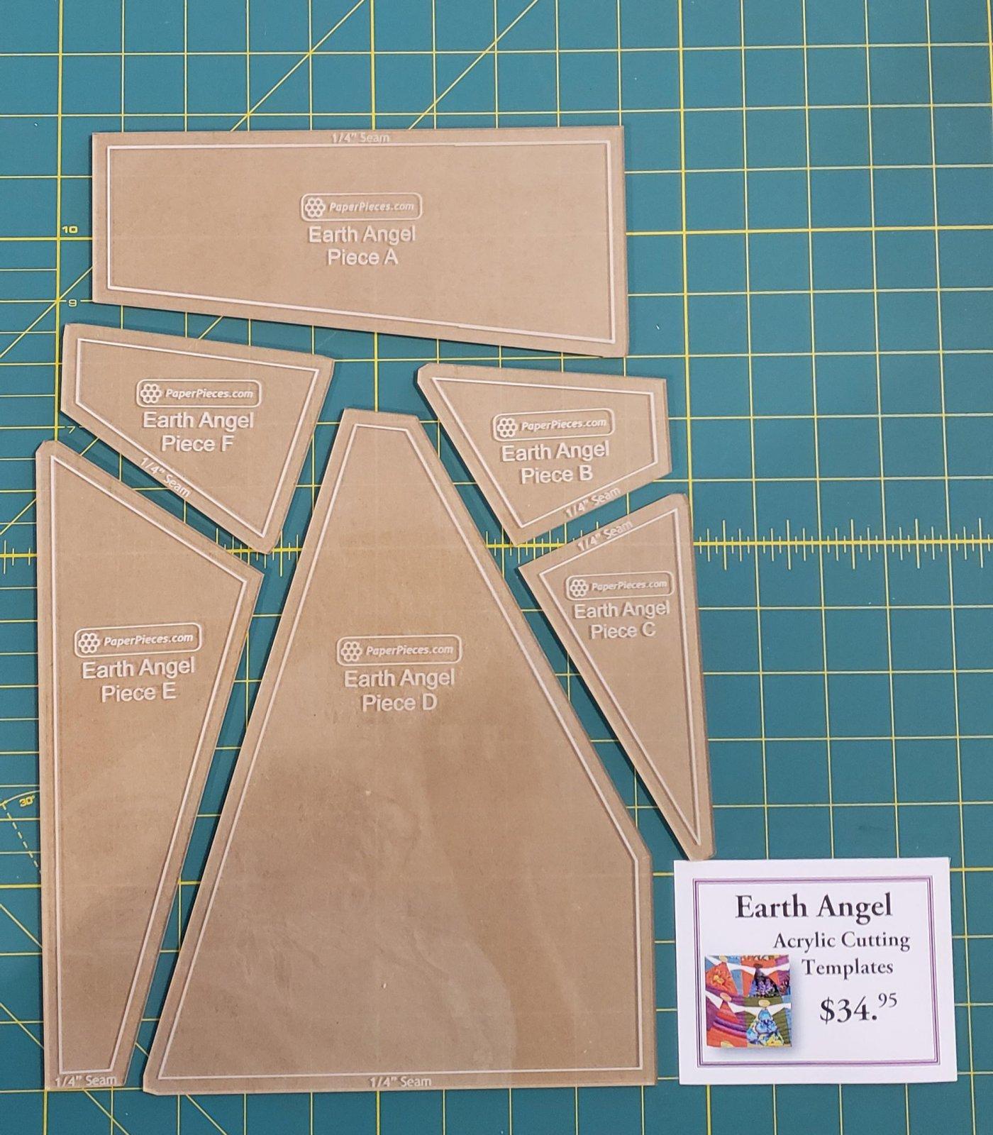 Angel Quilt Templates & Pattern