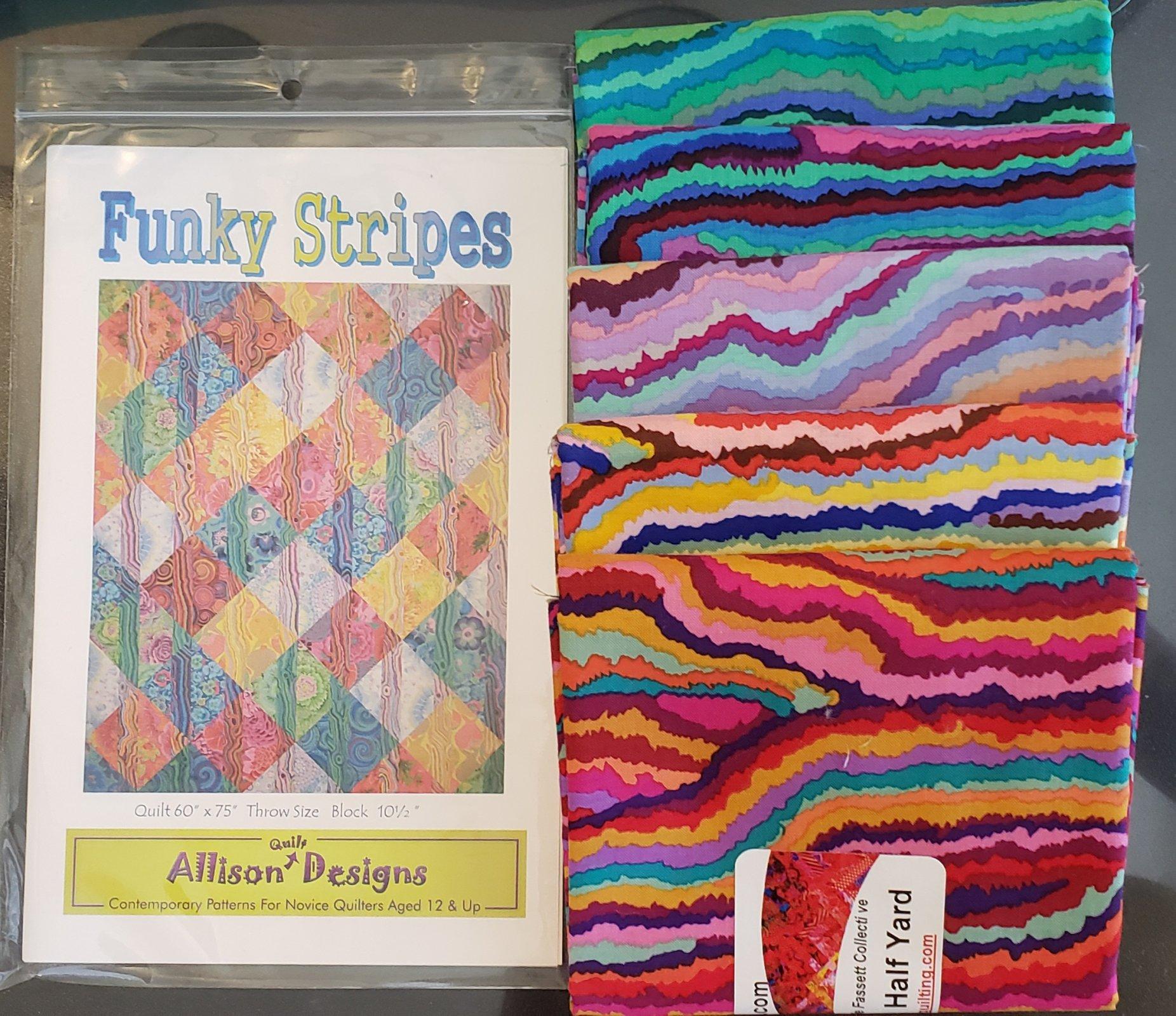 Funky Stripes  - Jupiter & Pattern