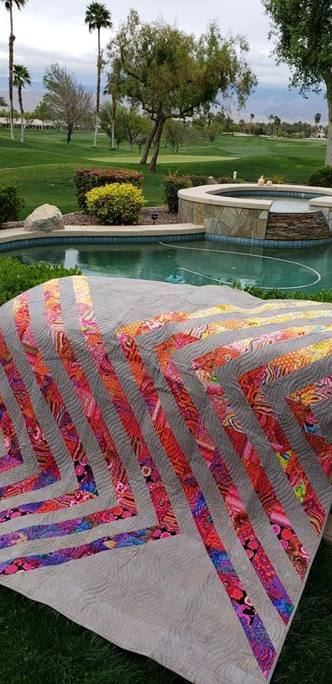Selkie Quilt Sample