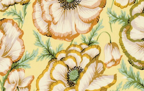 Banded Poppy - Butter