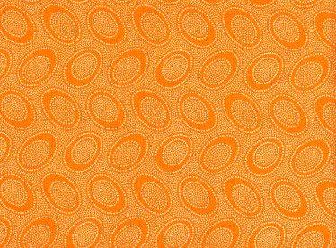 Aboriginal Dots - Cantalope