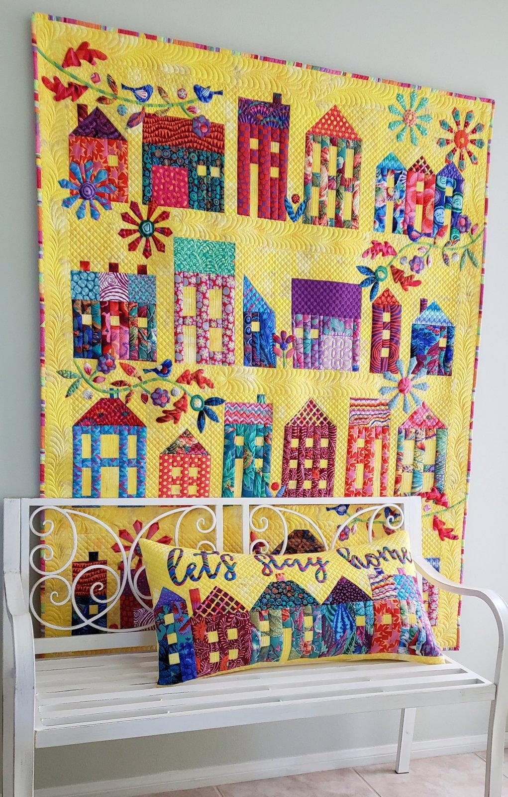 Summer Village Pillow