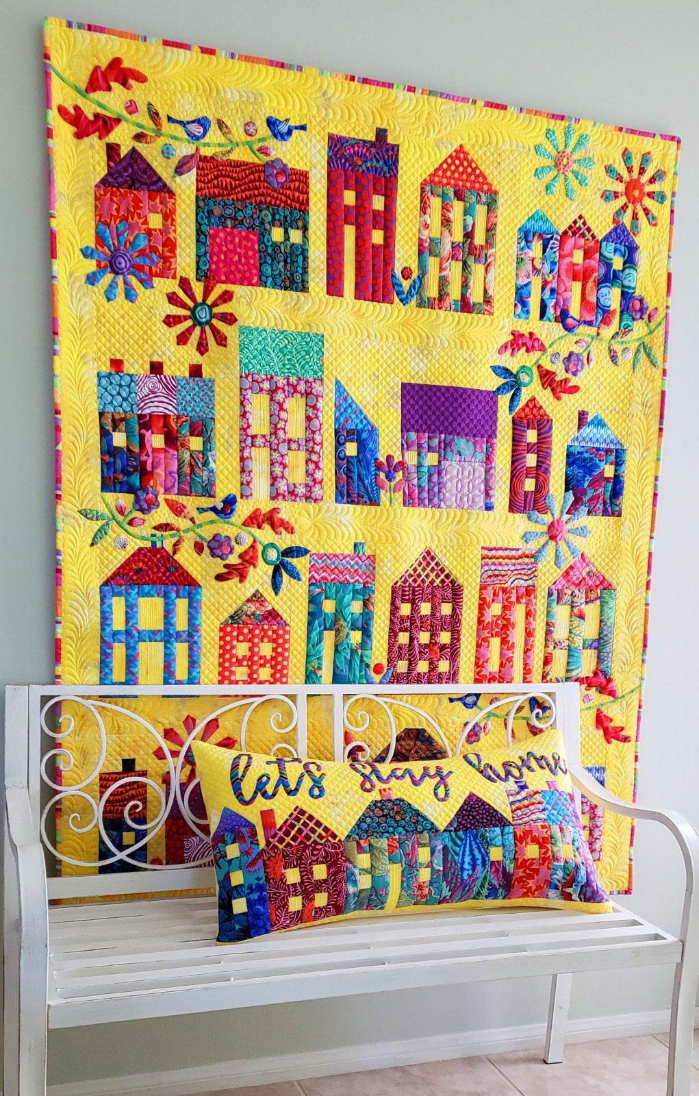 Summer Village Fabric Pack & Pattern