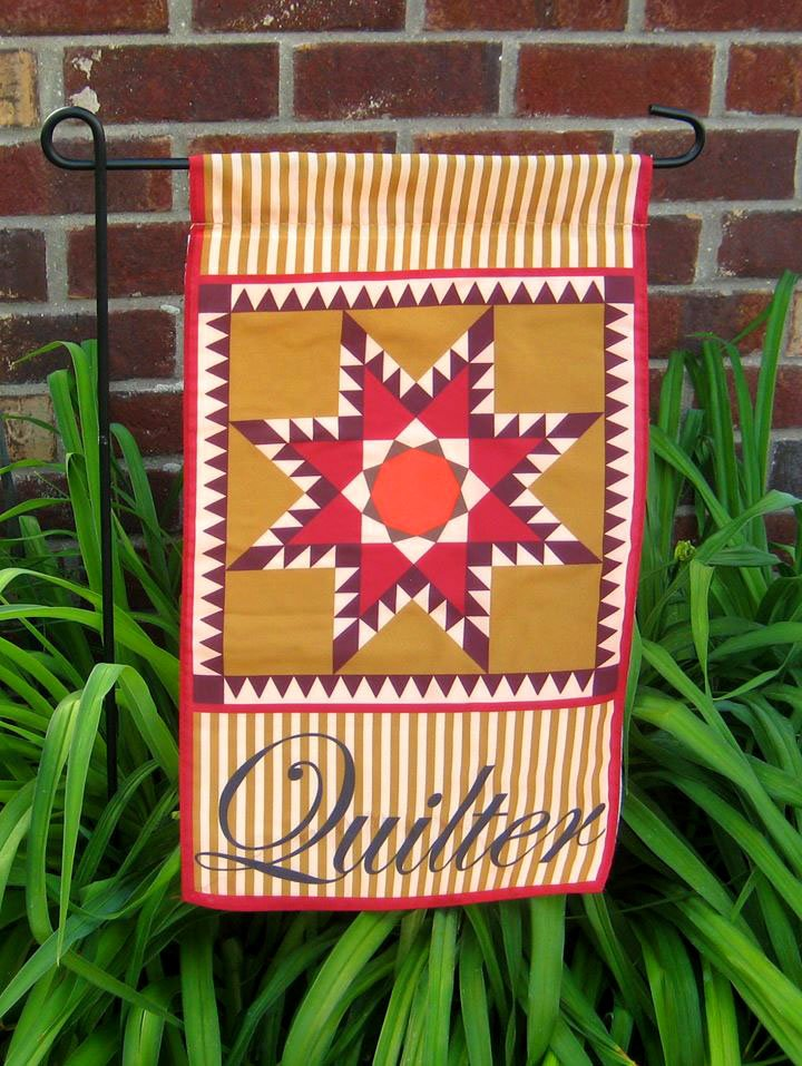Quilter's Garden Flag - by the dozen