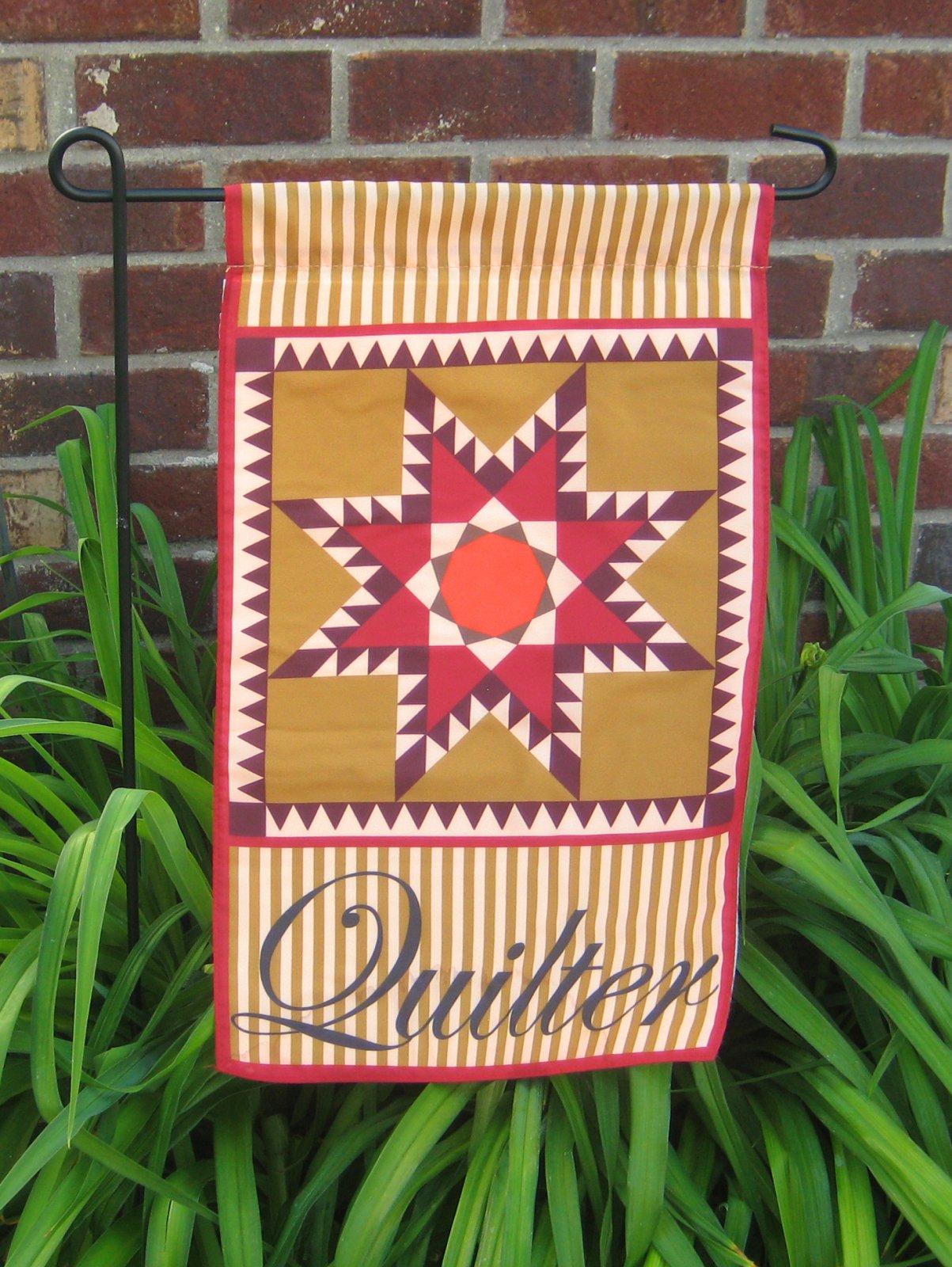 Quilter's Garden Flag