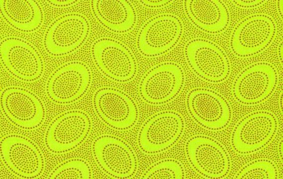 Aboriginal Dots - Lime