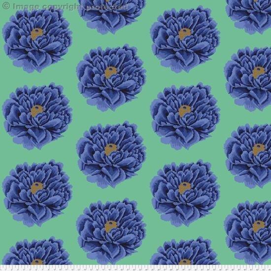 Full Blown -- Blue/Green  108 x 108