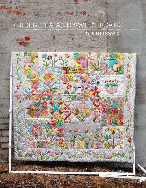 Green Tea & Sweet Beans Pattern