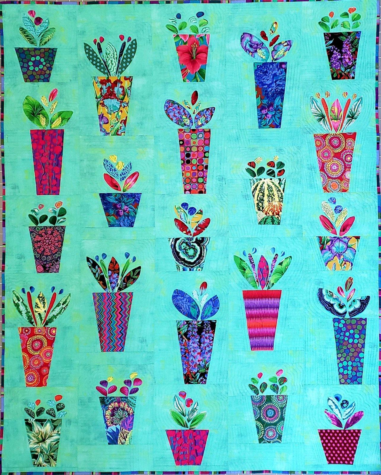 Herb Garden Quilt Kit & Backing