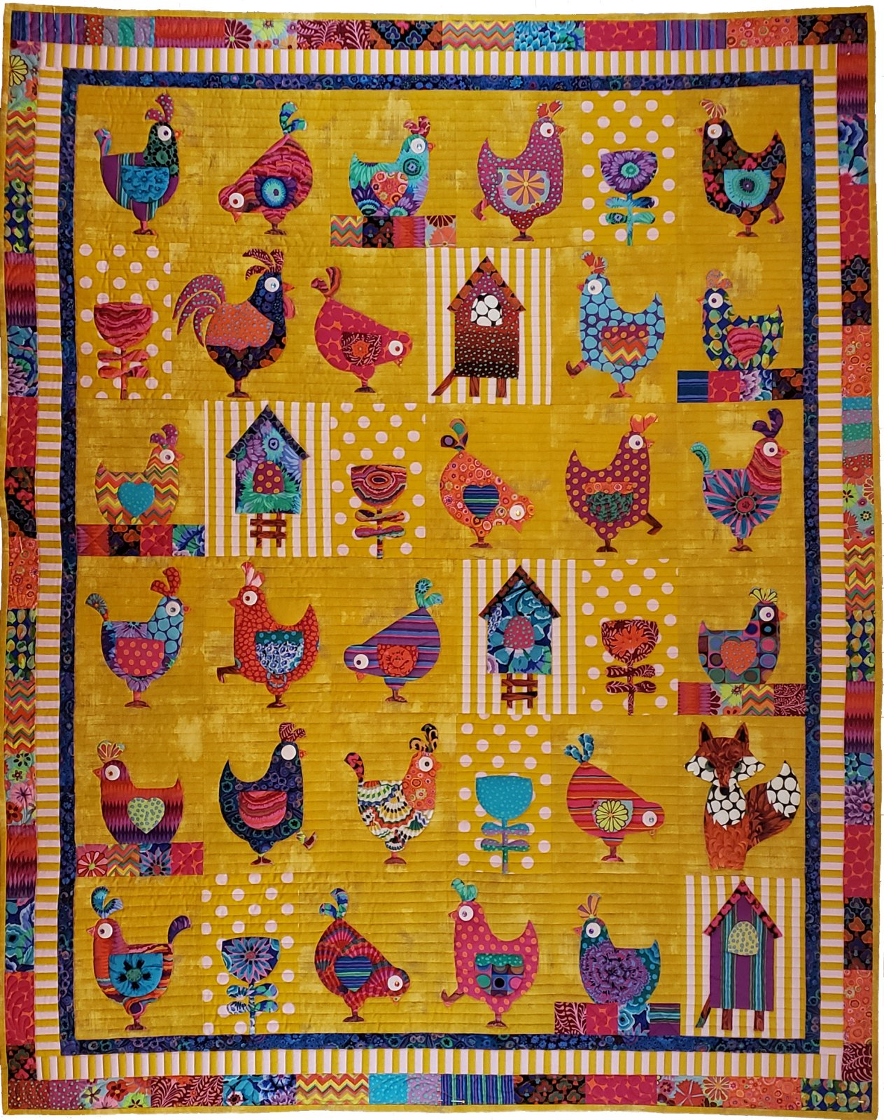 Hen House Fabric Pack