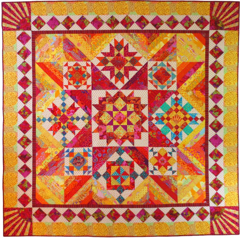 Rays of Sunshine Block of the Month
