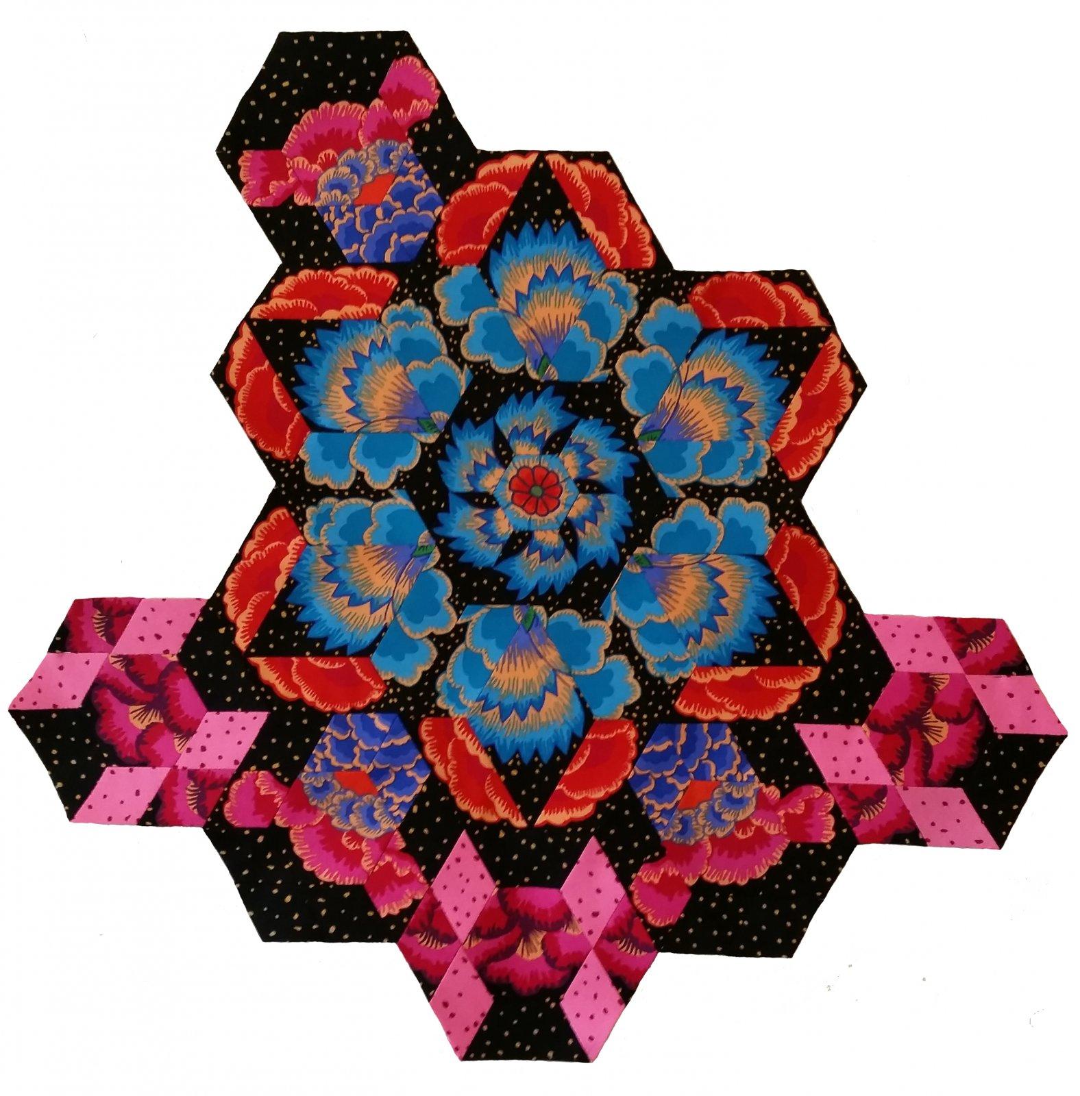Rosette #7 Fabric Pack
