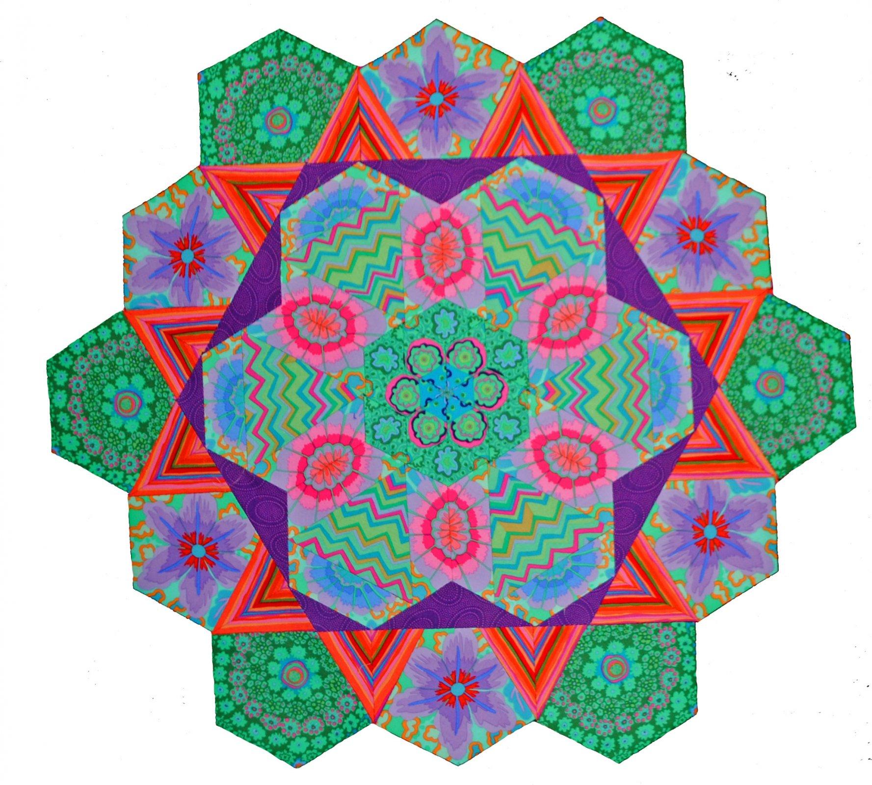 Rosette #5 Fabric Pack