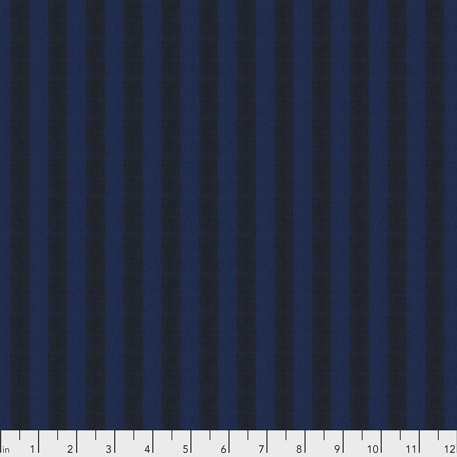 Woven Stripe - Midnight 5/8 yard