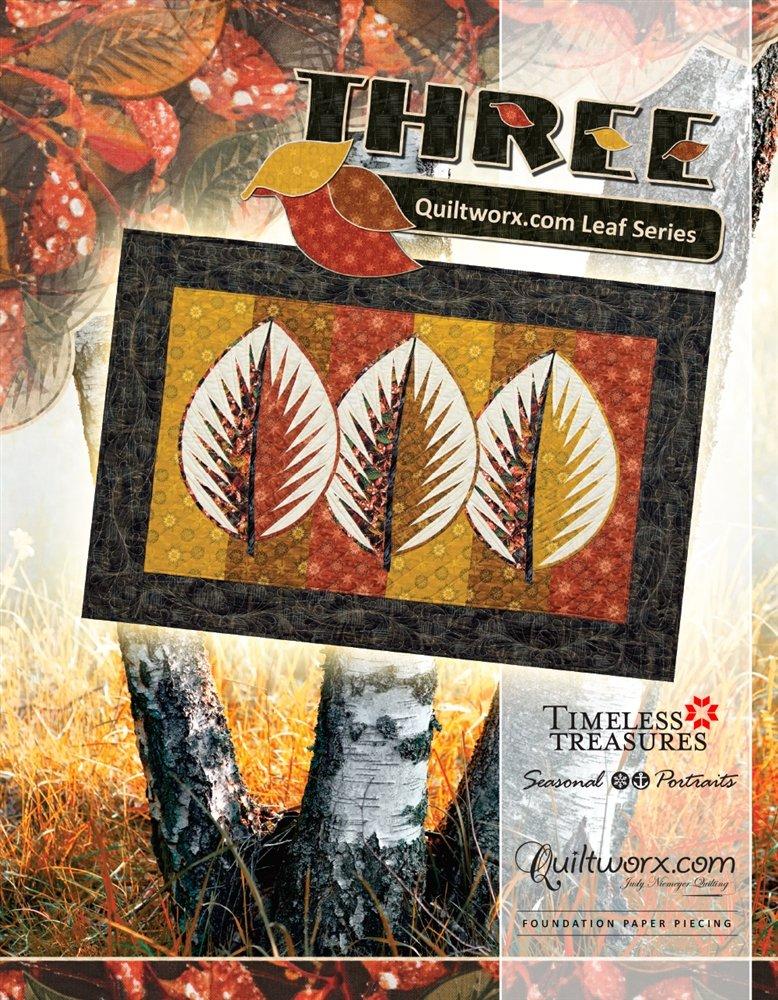 Three Leaf Wallhanging