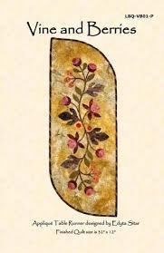 Vine & Berries Pattern & Background