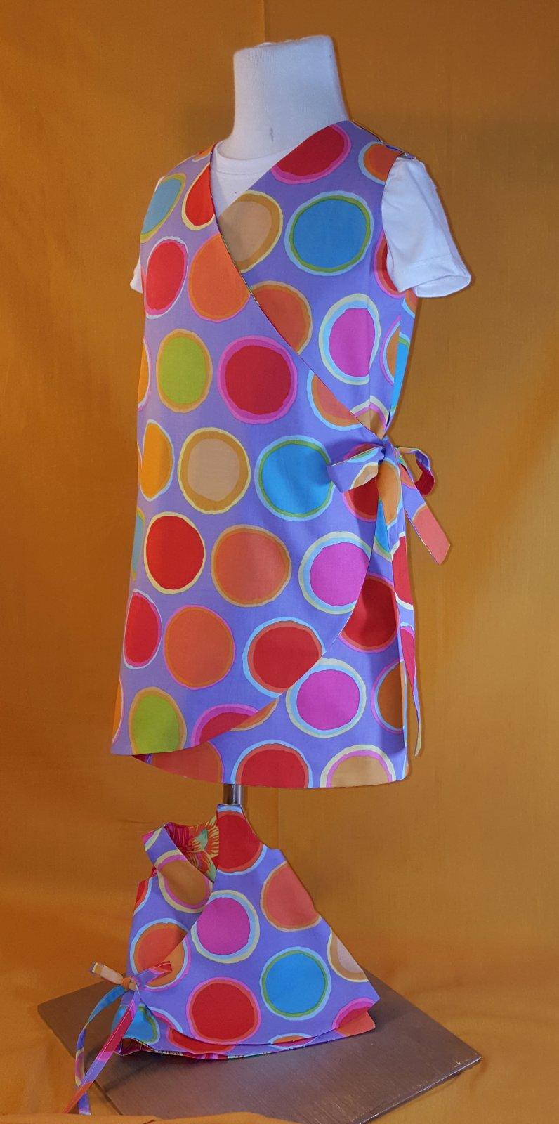 Sunny - Reversible Wrap Dress