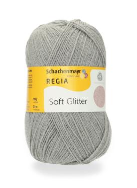 REGIA Soft Glitter - 051 Silver Blue