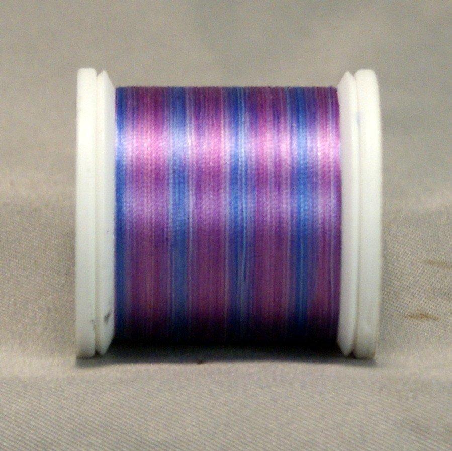 YLI Silk Variegated #100 Thread - Purples