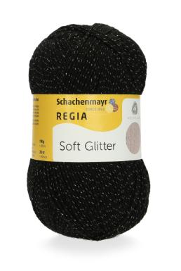 REGIA Soft Glitter - 099 Black