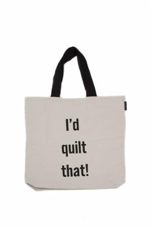 I'd Quilt That Tote