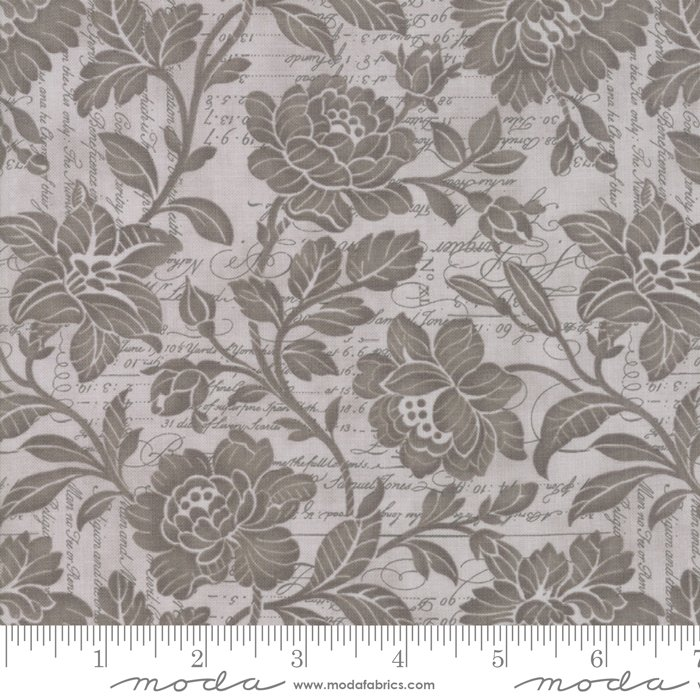 Memoirs 108 - Silver (108 wide) (Remnant: 1-2/3 yds)